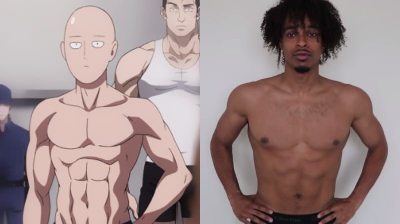 Guy Goes on 100-Day 'One Punch Man' Training to Transform ...