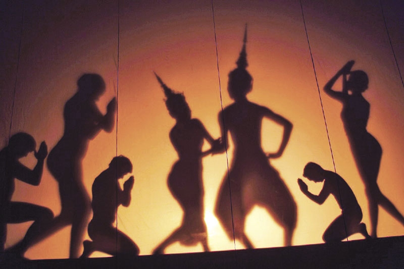 Thai Shadow Play