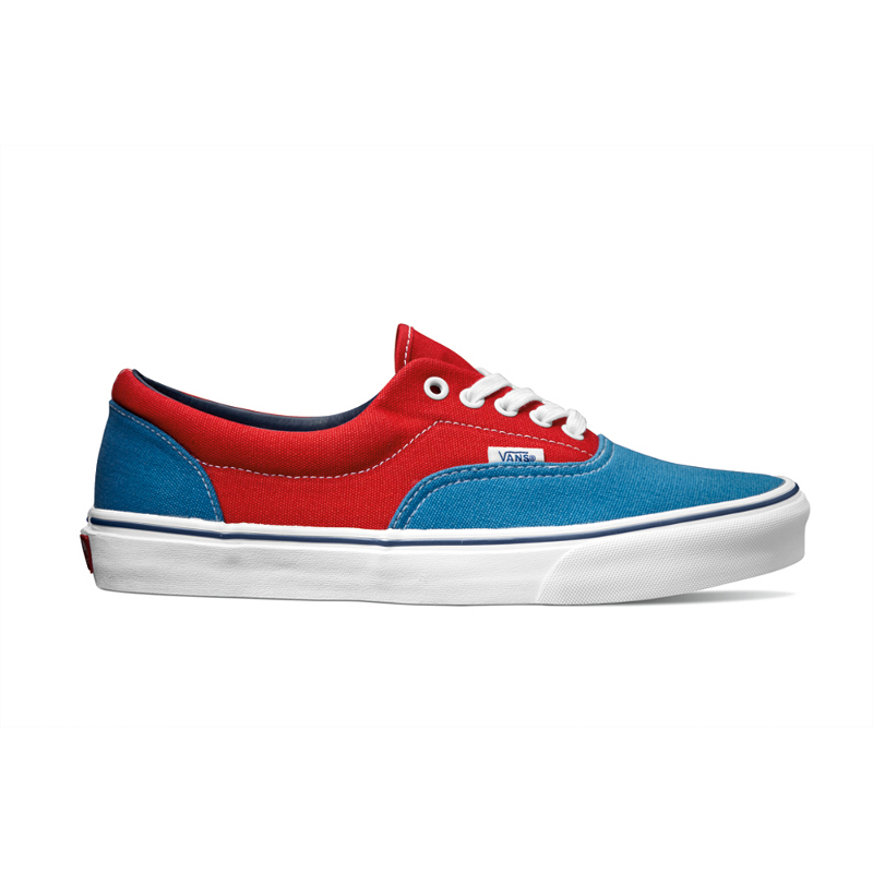 cc197425c0 Vans Classics Era Golden Coast in Deep Water True Red
