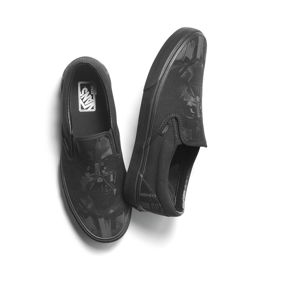 55ecc64302 Vans x Star Wars Classic Slip-On in Darth Vader
