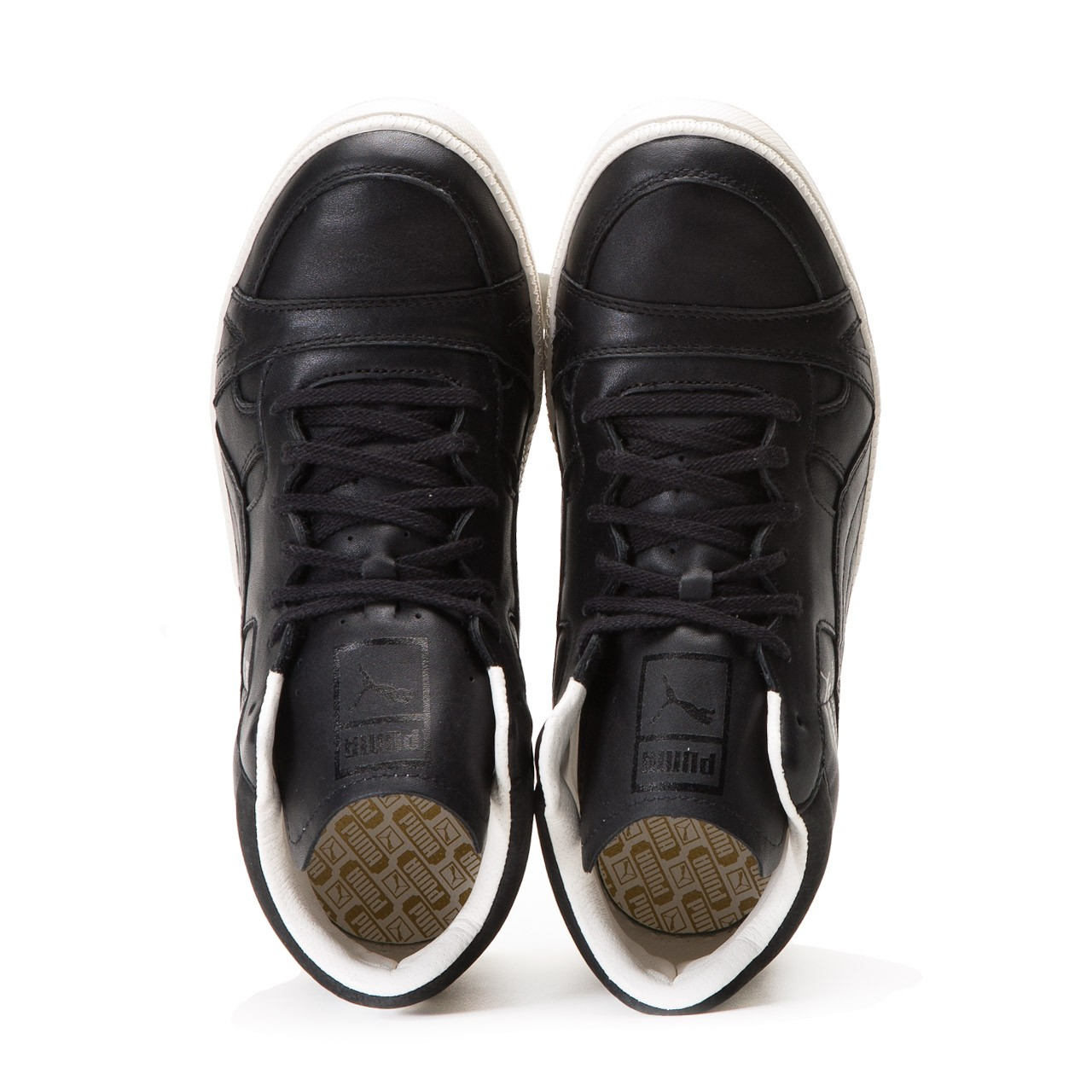 ccae21d05cde The Puma Becker Leather Black is now available for €129.90 at Allike Store.