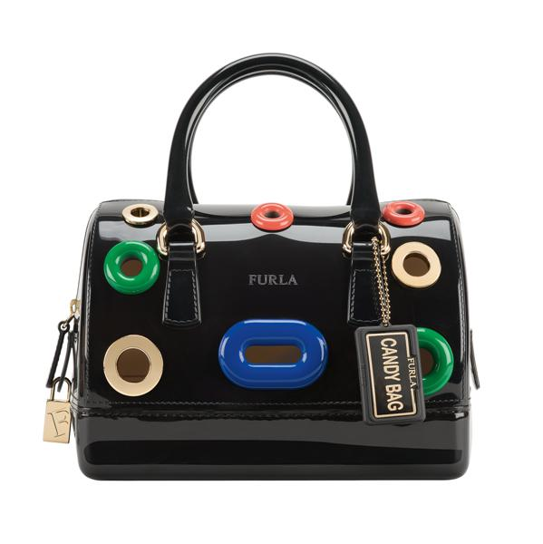 Candy Furla Bubbles Mini Satchel BEJ7_onyx3 (Medium)