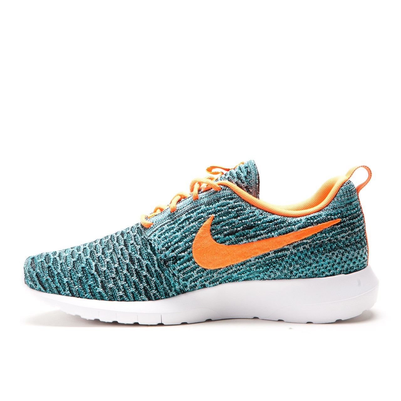 official photos 6e0b0 46495 nike-flyknit-roshe-run-black-total-orange-hyper-