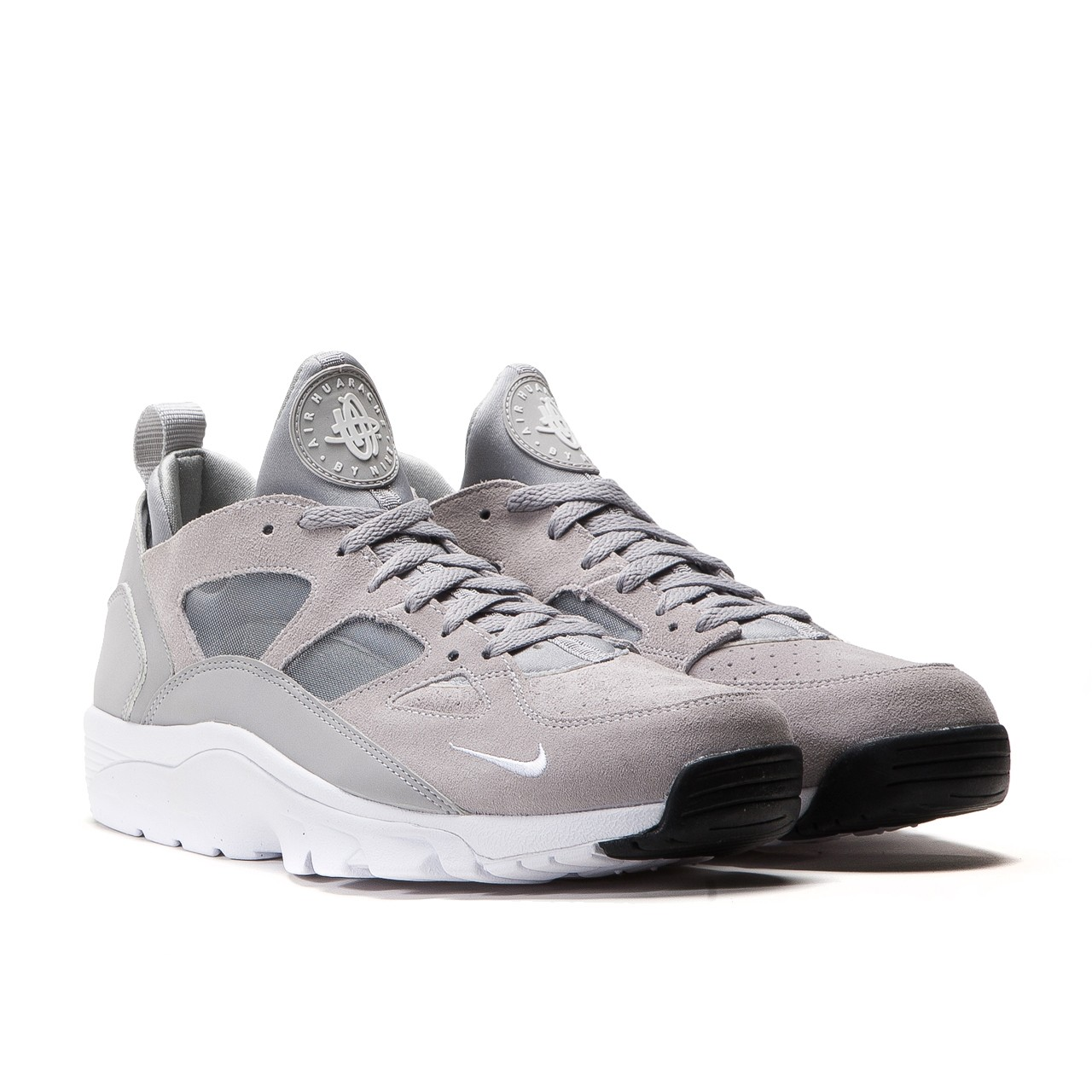 buy popular 227d7 f1f6b Nike Air Trainer Huarache Low Wolf Grey retails at  u20ac119.90  (approximately RM587.50) via Allike Store.