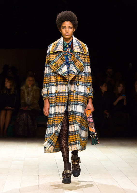 Burberry Womenswear February 2016 Collection - Look 56-SMALL