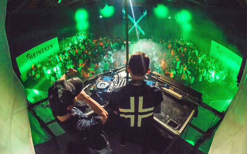 HMB Launch - Malaysia's No. 1 DJ duo Goldfish & Blink brought their high energy sounds to the guests as they celebrated the new chapter of Heineken Malaysia Berhad! - Photo by © All Is Amazing