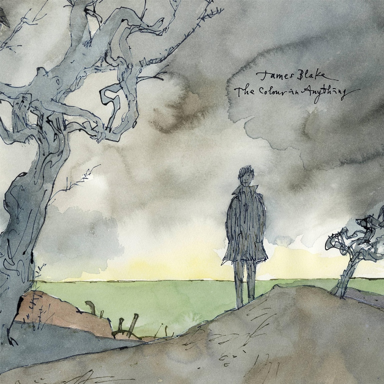 james blake's the colour in anything