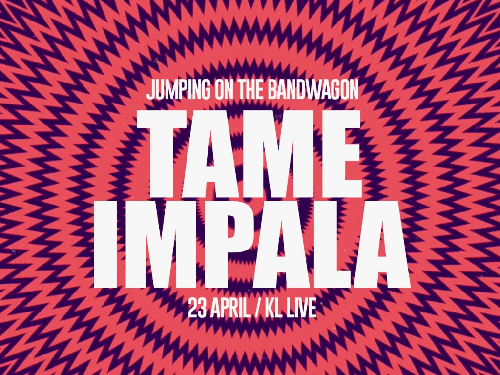 Jumping On The Bandwagon Tame Impala Kl Live