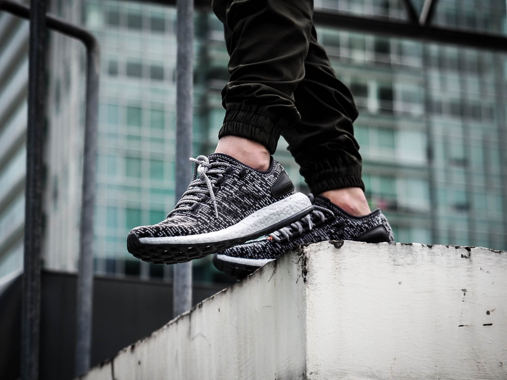 83cc05607fe Back at it Again with the adidas PureBOOST LTD Silver