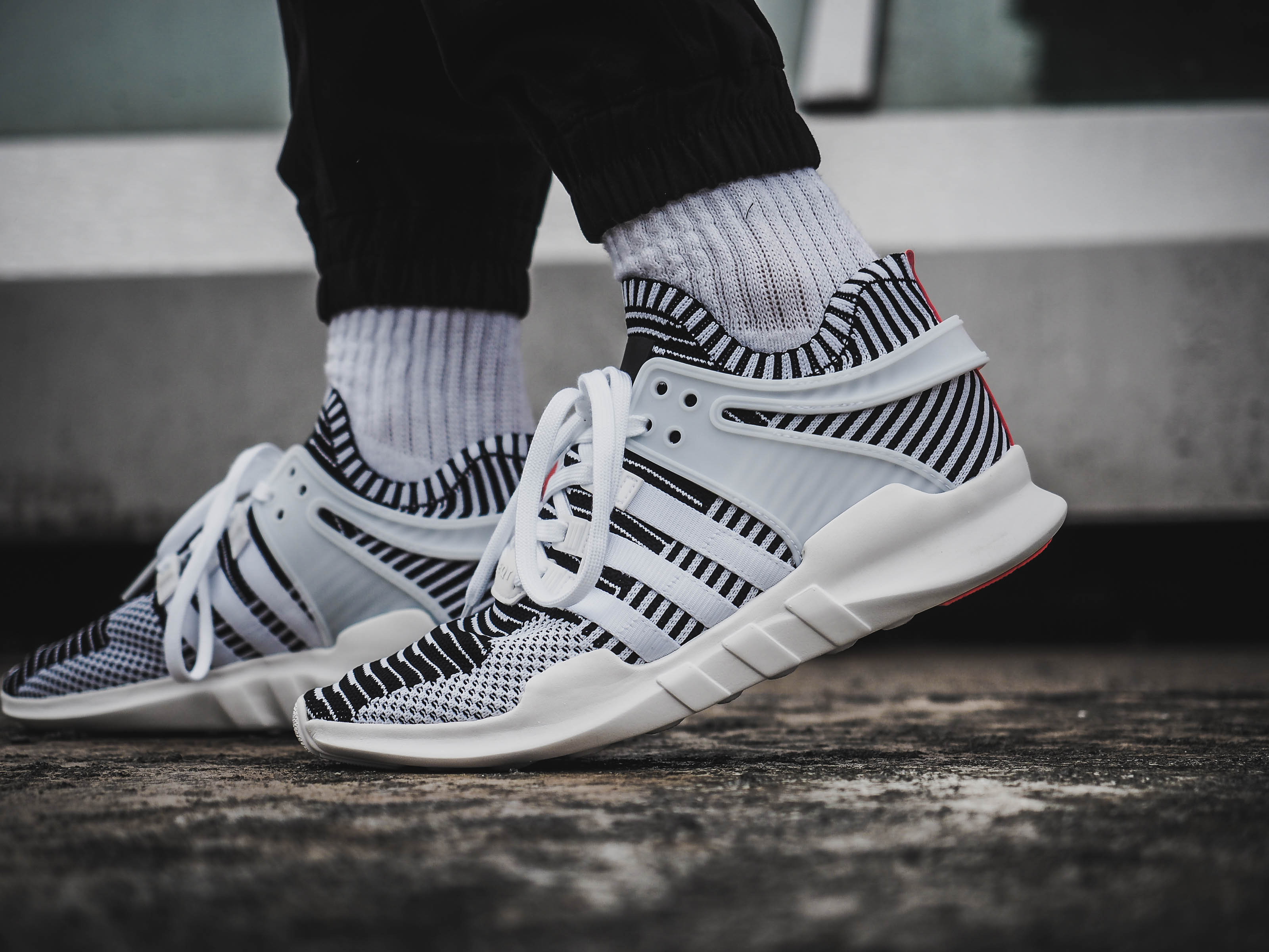 ADIDAS EQUIPMENT SUPPORT ADV CORE WHITE/MID GREY