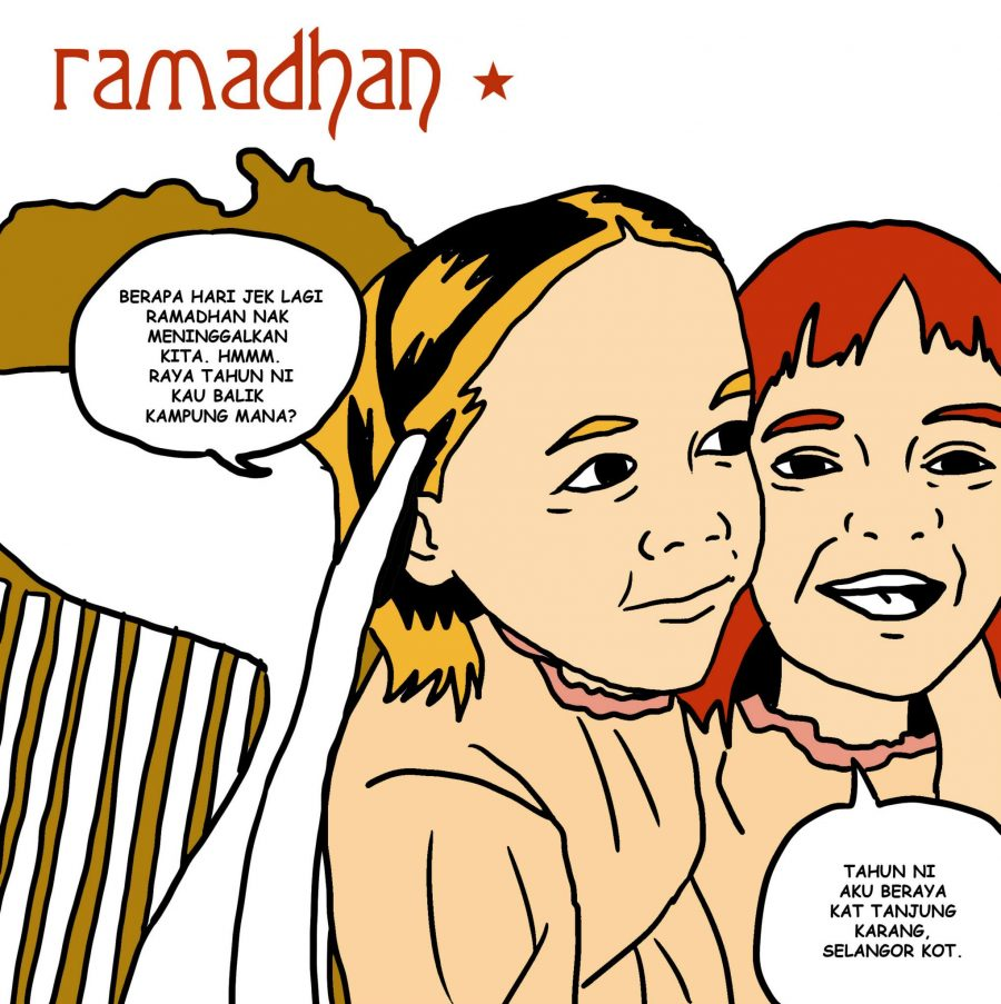 malaysian artist redesigns iconic album covers for ramadhan