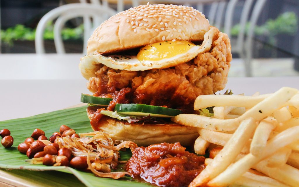 Here's a Nasi Lemak Burger That's Not by McDonald's Singapore -- and Actually Available Here!