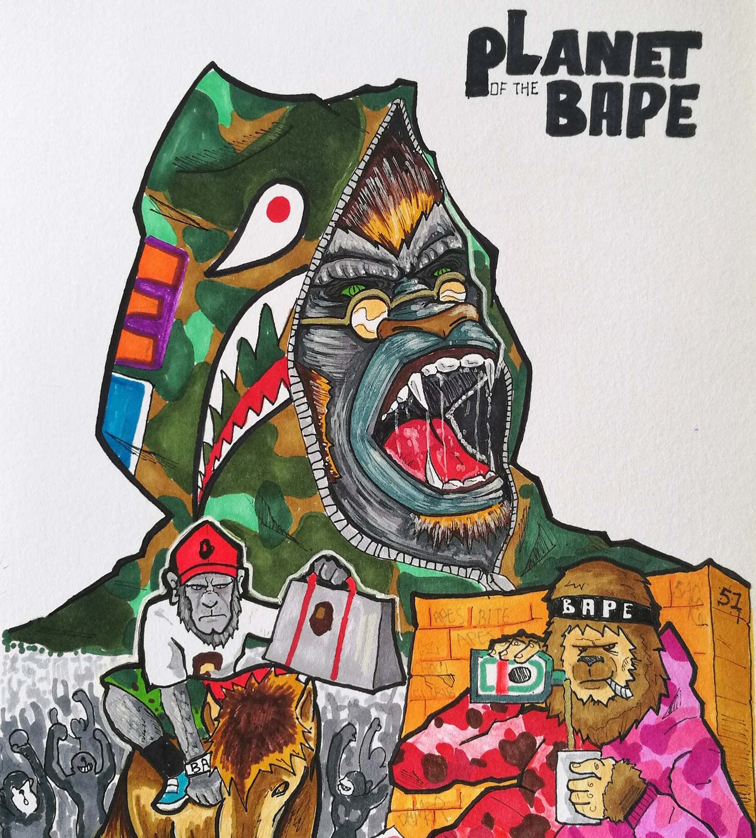 4cd65323944d The Dawn of the Planet of the BAPEs is the Rise of the Hypebeasts