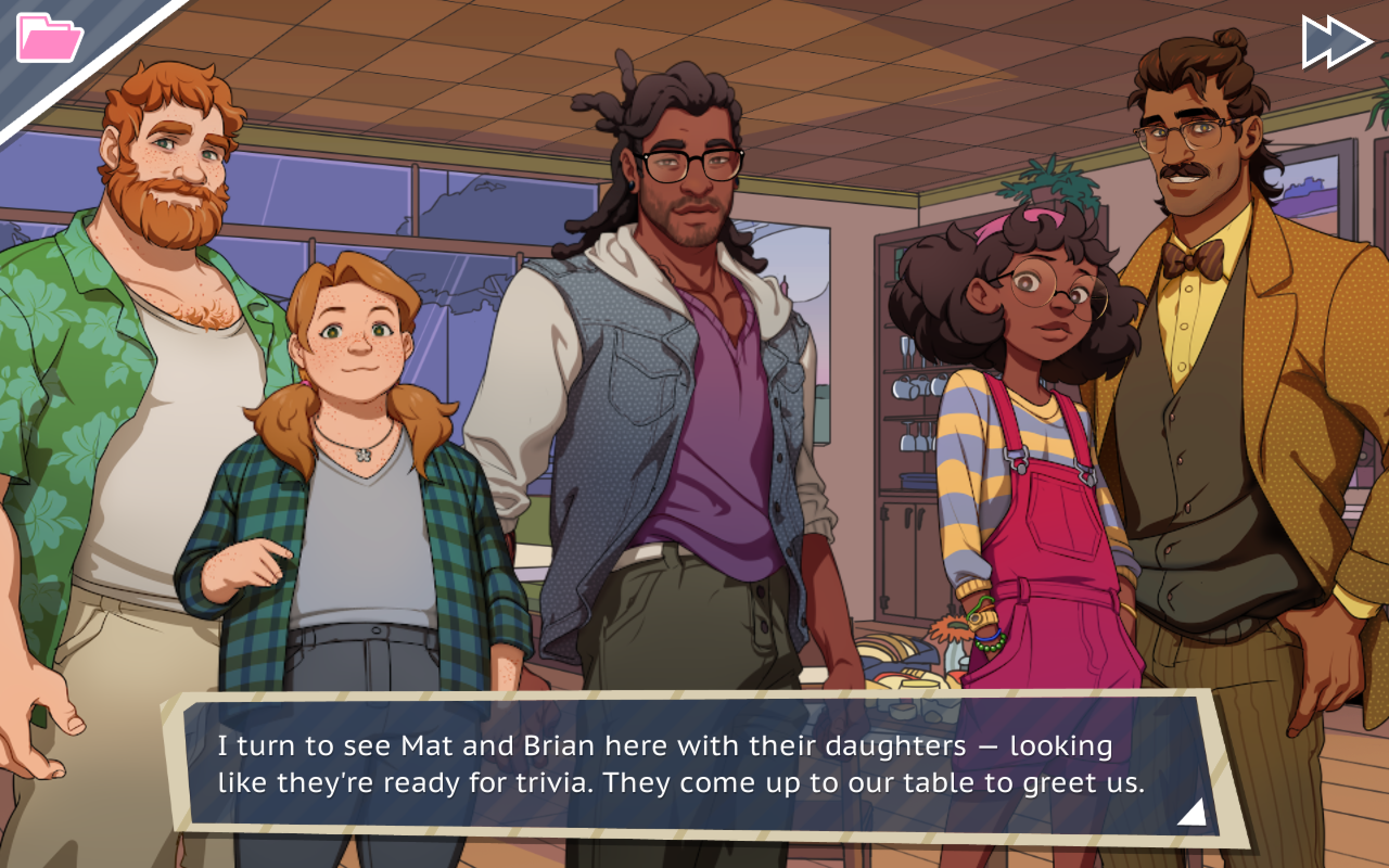 Straight to the point dating simulator