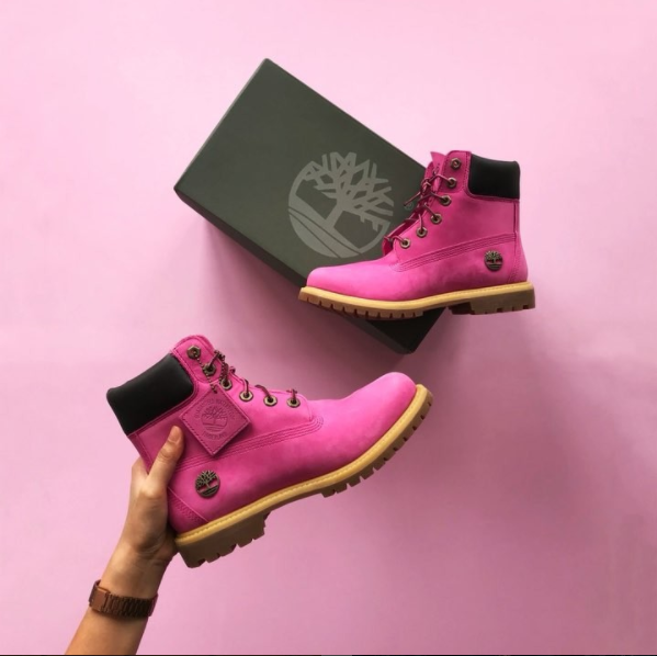 861e5136b To represent the strength of all breast cancer survivors and their  families, the sturdy boots are made with a bright pink nubuck body, as well  as the Susan ...