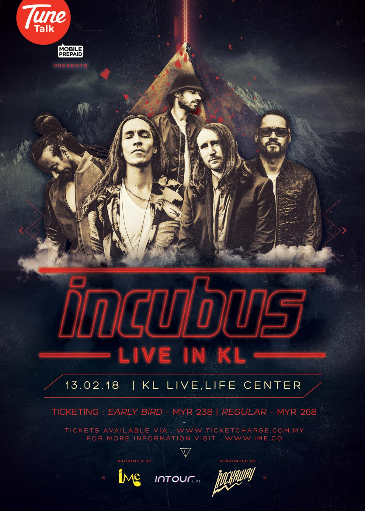 Incubus Songs List Simple incubus is heading down to kl in feb '18