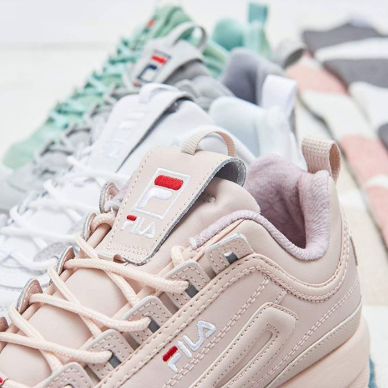 20d3001dad33 Taking cue from the classic 90's chunky shoe trend, Fila releases these  sweet kicks with a twist of fresh vibes that is definitely closet-worthy,  ...