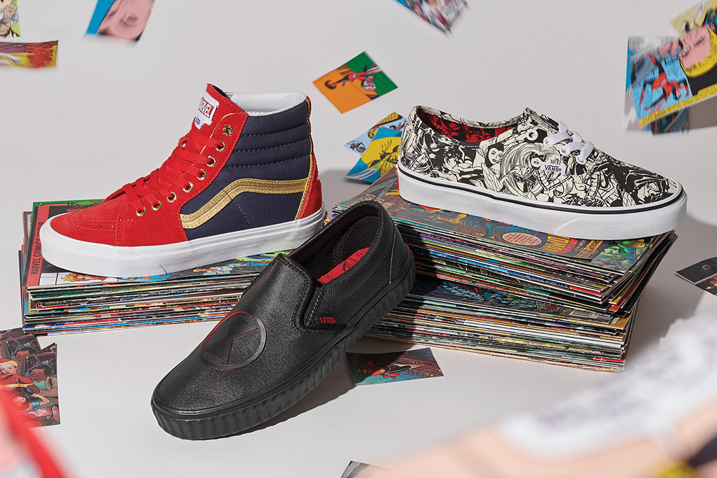 AVANSgers Assembled for Vans' New Fall Collection with Marvel