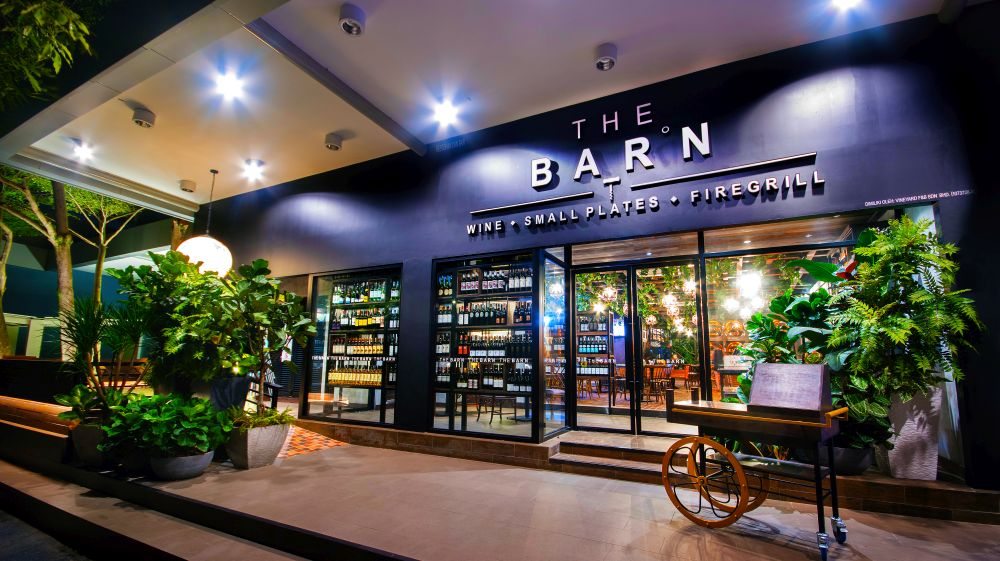 Image result for the barn wine bar desa parkcity