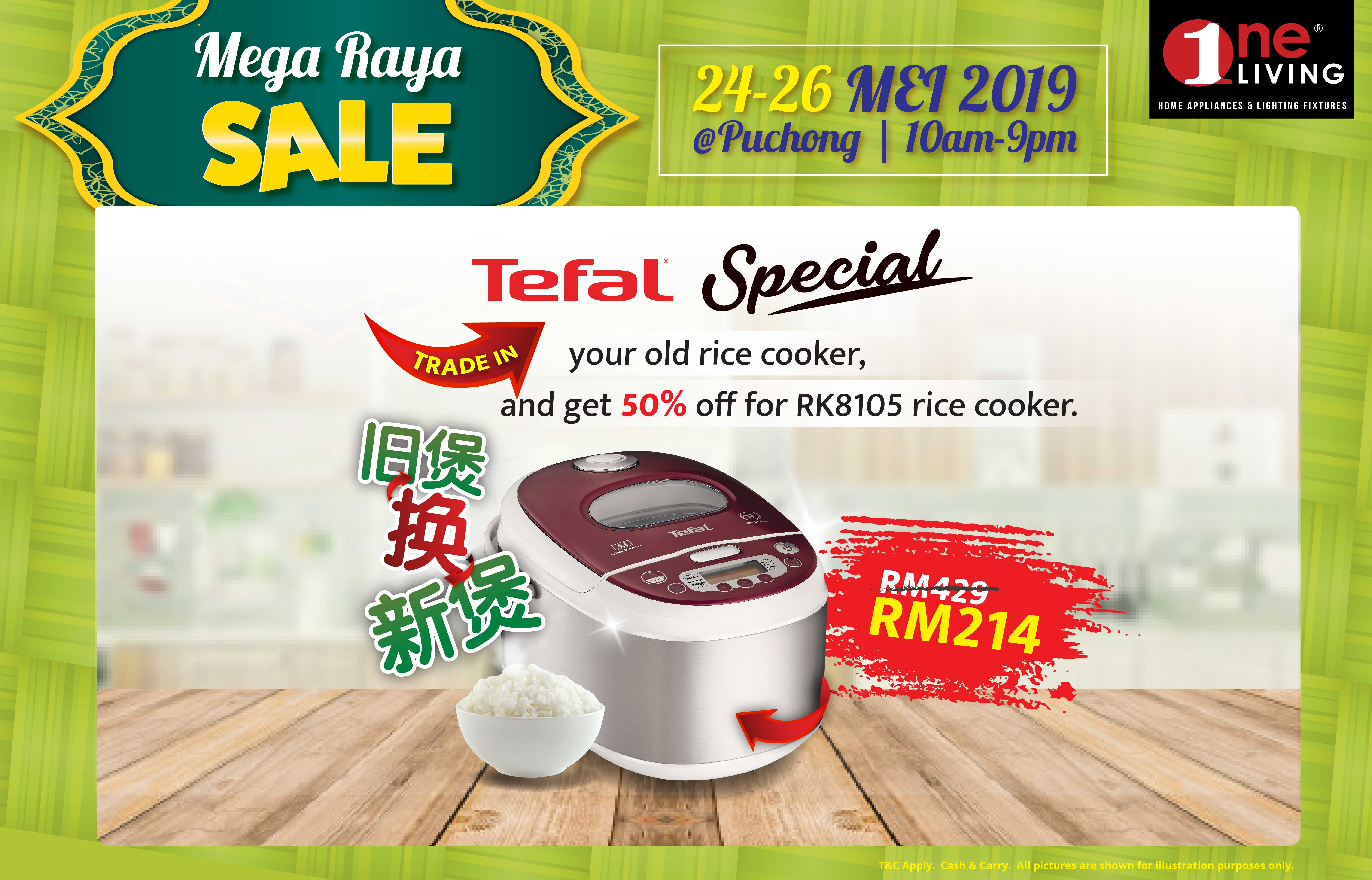 Spruce Up Your Home For Raya With New Appliances At One