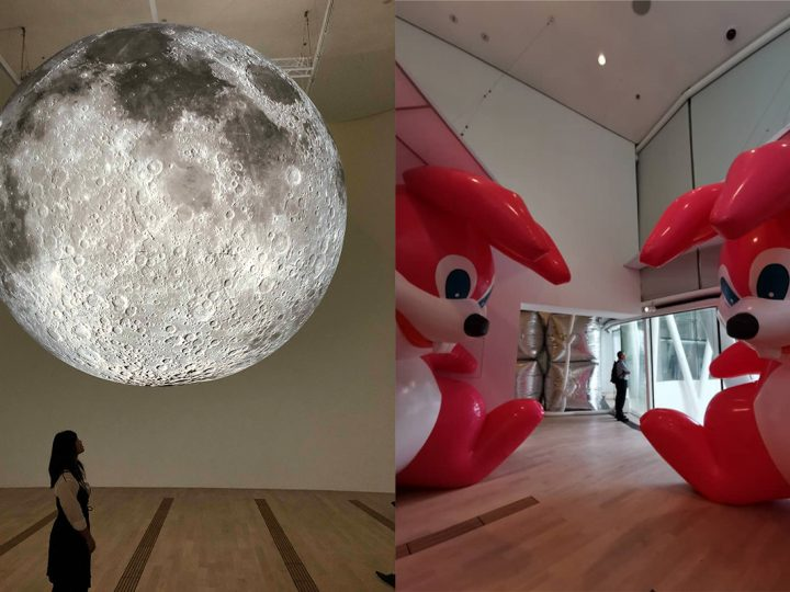 3d0054e09f Giant rabbits, a floating moon and other intriguing inflatables at  ArtScience Museum's latest exhibition